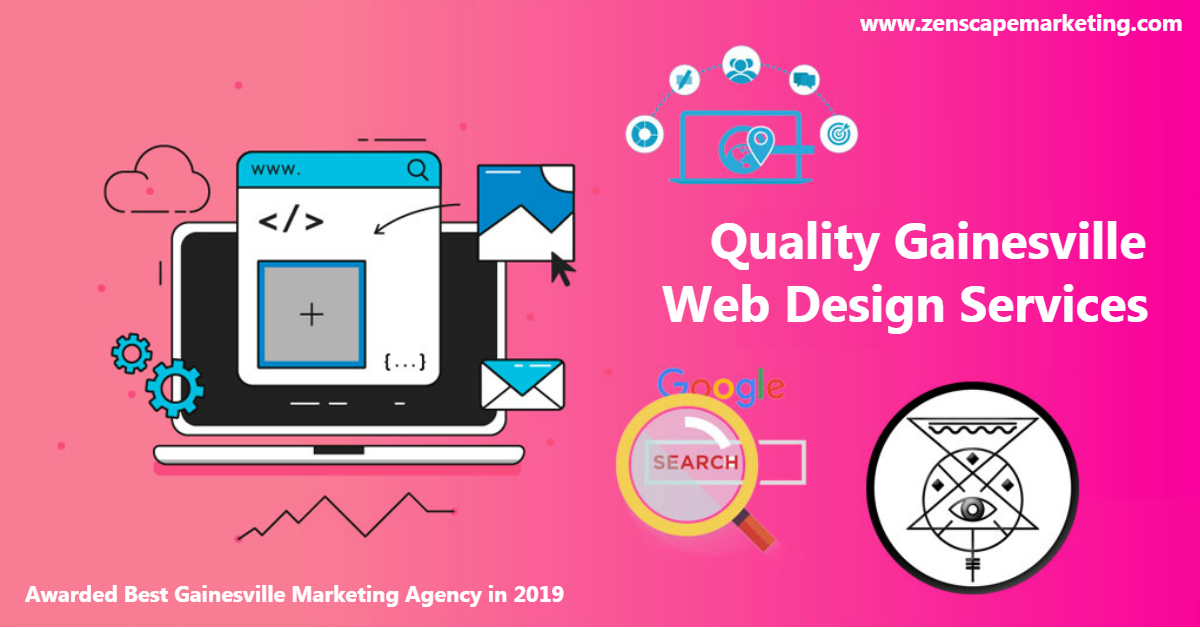 Quality Gainesville Web Design Services
