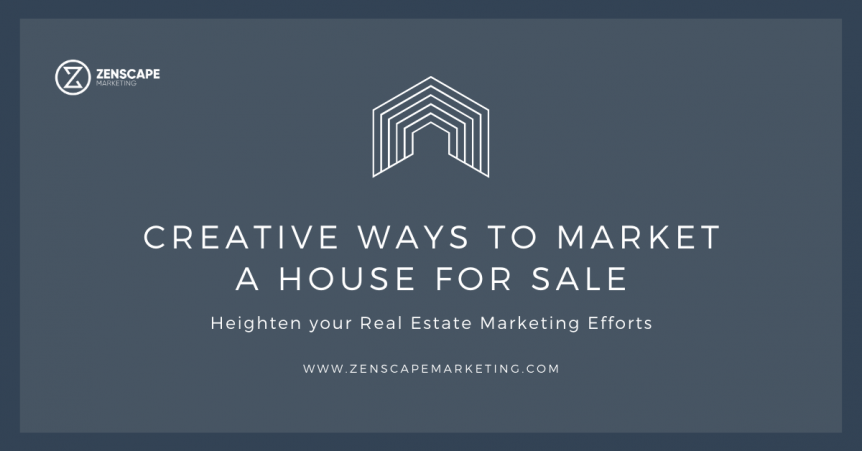 Creative Ways to Market a House for Sale